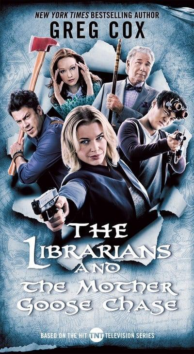 jacket, The Librarians and the Mother Goose Chase