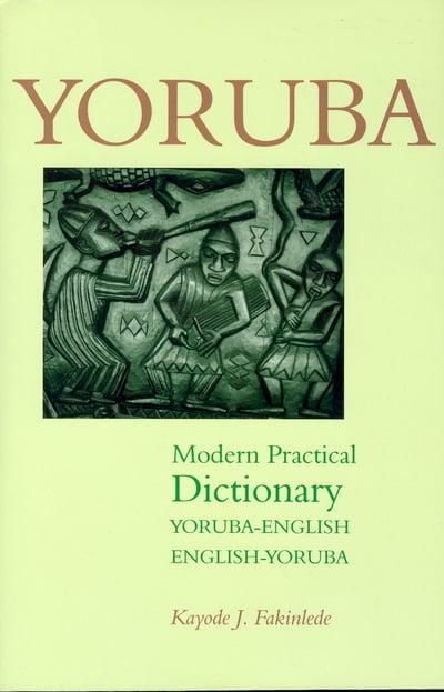 Yoruba Dictionary Online Translation LEXILOGOS