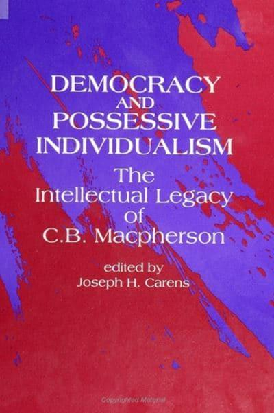 Democracy and Possessive Individualism
