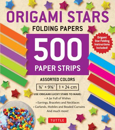 Lyanther Origami Paper Stars Glow In the Dark Folding Lucky star ... | 453x400