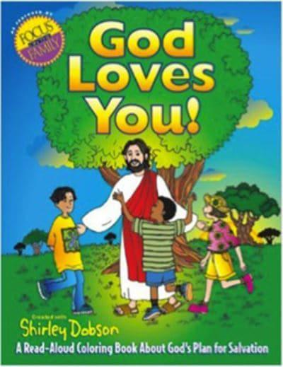 A Read Aloud Coloring Book About Gods Plan For Salvation Shirley Dobson