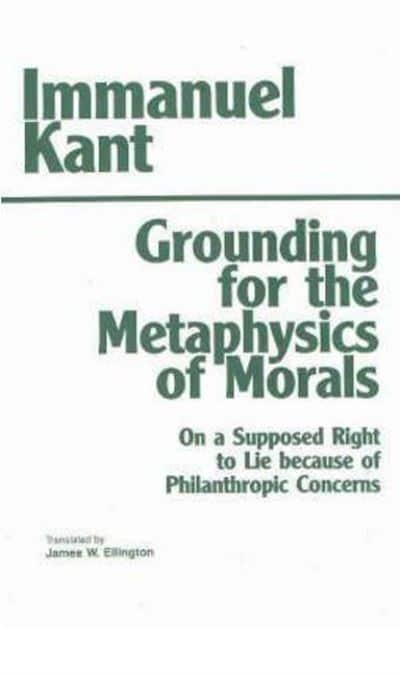 essay on grounding for the metaphysics of morals