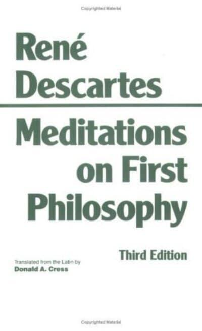 an analysis of a passage in meditations on first philosophy by ren descartes Free essay: in rene descartes, meditations on first philosophy, he talks about the distinction between god and existence this paper is going to argue that.
