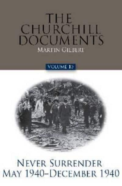The Churchill Documents, Volume 15