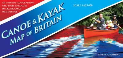 Canoe and Kayak Map of Britain