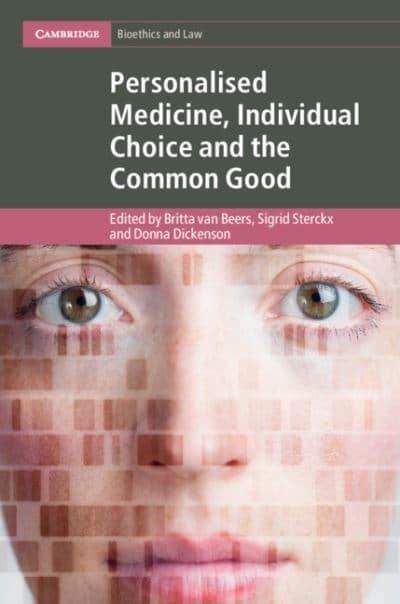 jacket, Personalised Medicine, Individual Choice and the Common Good