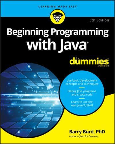 Java programming 5th fifth edition java how to program 4th edition array beginning programming with java barry a burd author rh blackwells fandeluxe Gallery
