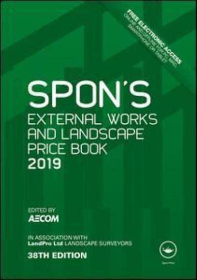 Spon's External Works and Landscape Price Book 2019 : AECOM