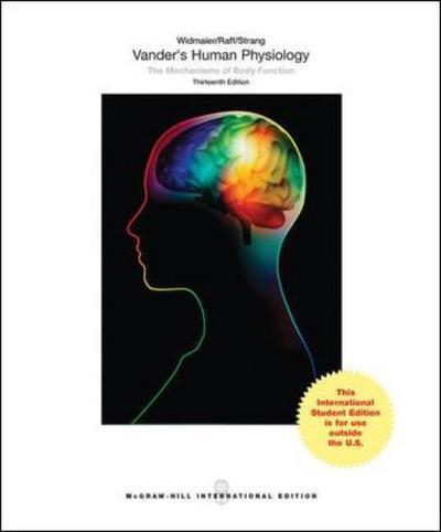 Vander S Human Physiology Eric P Widmaier Author