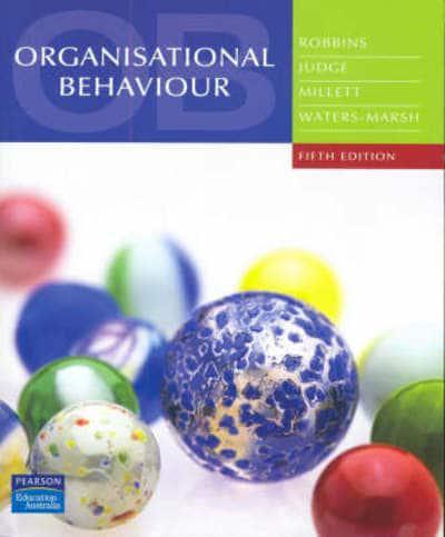Organisational Behaviour David Buchanan Pdf