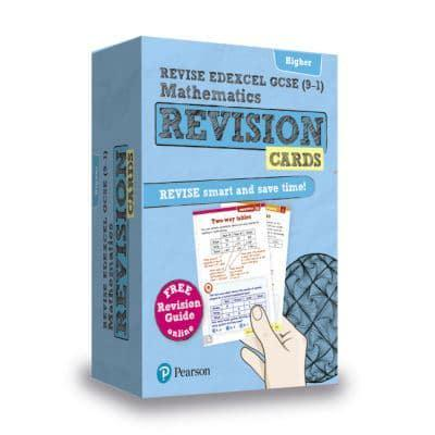 revise edexcel gcse 9 1 mathematics higher revision cards mr harry smith author. Black Bedroom Furniture Sets. Home Design Ideas