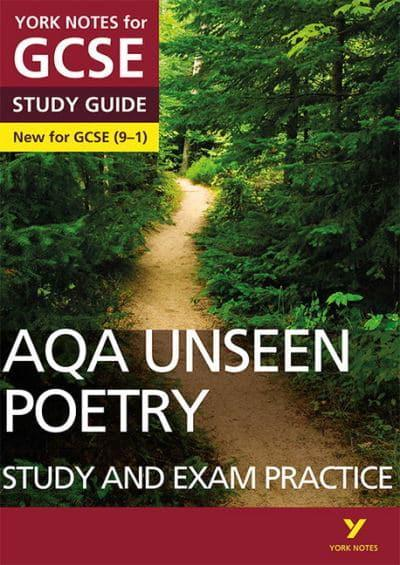 AQA English Literature Unseen Poetry  Study Guide and Test