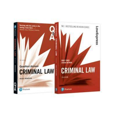 Criminal Law Revision Pack 2018 : Emily Finch (author
