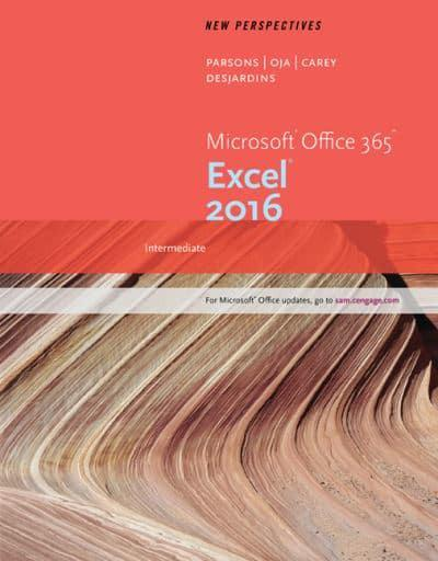 New Perspectives Microsoft Office¬ 365 & Excel 2016