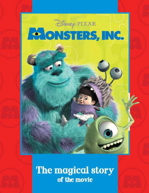 Disney Pixar Monsters Inc Walt Disney Pictures 9781405480154 Blackwell S