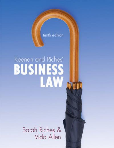 keenan and riches business law 10th edition pdf