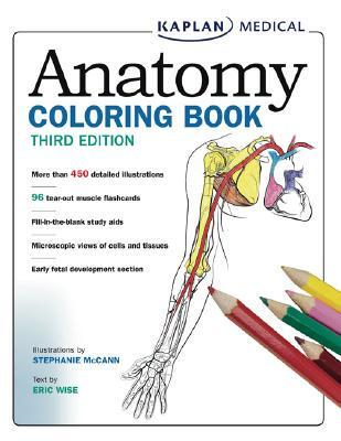 Anatomy colouring book stephanie mccann author Kaplan anatomy coloring book 6th edition