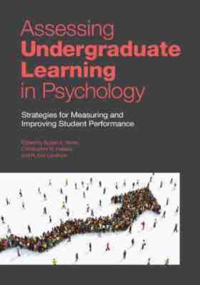Assessing Undergraduate Learning in Psychology