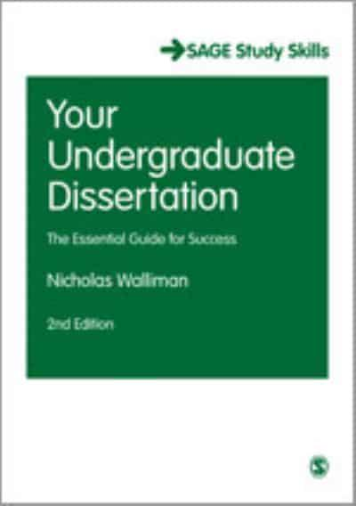 Your Undergraduate Dissertation