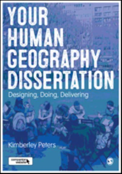 Dissertation in geography of tourism
