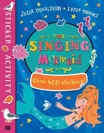 jacket, The Singing Mermaid Sticker Book