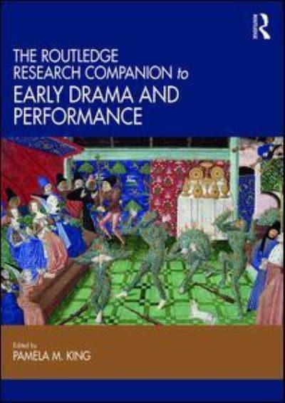 jacket, The Routledge Research Companion to Early Drama and Performance