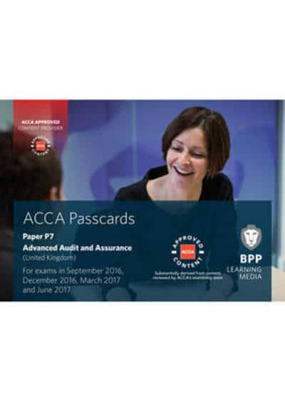 ACCA P7 Advanced Audit and Assurance (UK) : BPP Learning