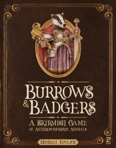jacket, Burrows & Badgers