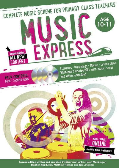Music Express Ages 10-11 : Maureen Hanke (author