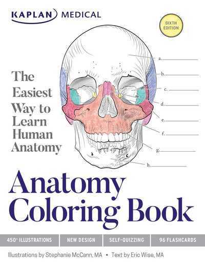 Jacket anatomy coloring book