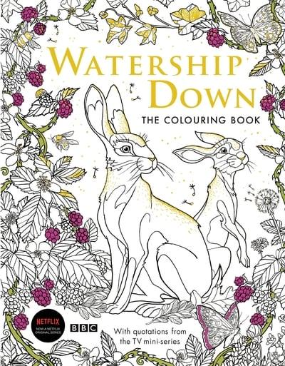 Watership Down: The Colouring Book : : 9781509899777 ...