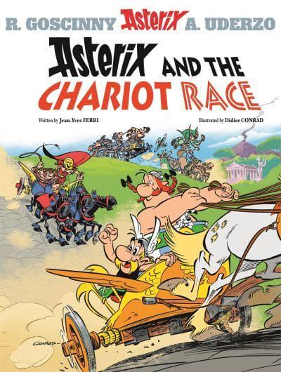 Image result for asterix and the chariot race