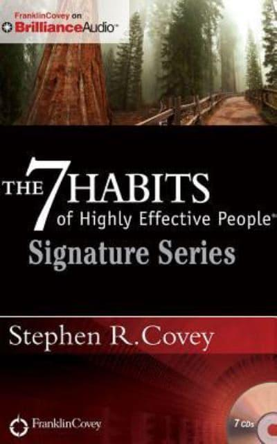 jacket, The 7 Habits of Highly Effective People - Signature Series