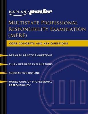Kaplan PMBR Multistate Professional Responsibility Exam