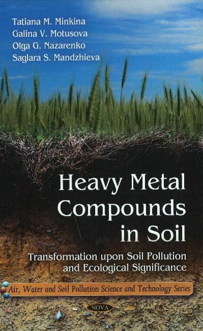 Heavy metal compounds in soil blackwell 39 s bookshop online for What substances are in soil