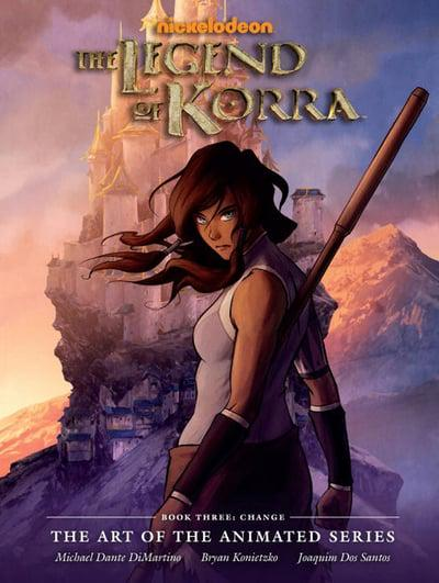 The Legend of Korra Book 3 Change