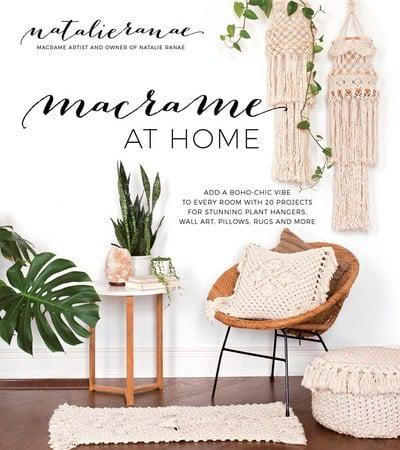 Macrame At Home Natalie Ranae Author 9781624145285 Blackwell S