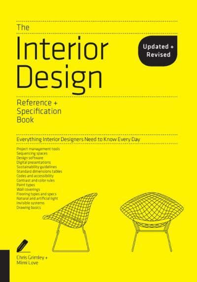 Jacket The Interior Design Reference Specification Book