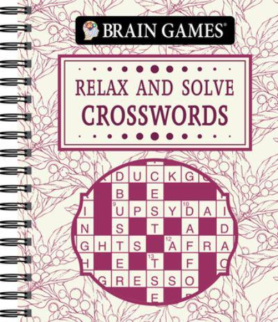 Brain Games - Relax and Solve: Crosswords (Toile)
