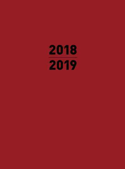 Small 2019 Planner Red