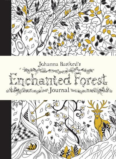 Jacket Johanna Basfords Enchanted Forest Journal