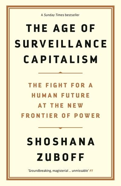 jacket, The Age of Surveillance Capitalism