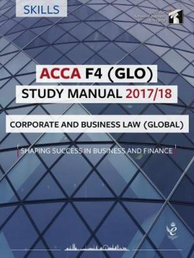 ACCA F4 Corporate and Business Law (GLO) Study Manual