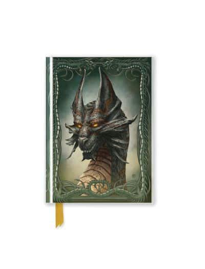 Beyit: Black Dragon (Foiled Pocket Journal) : Flame Tree
