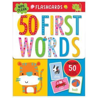 First 50 Words Flashcards : Dawn Machell (illustrator