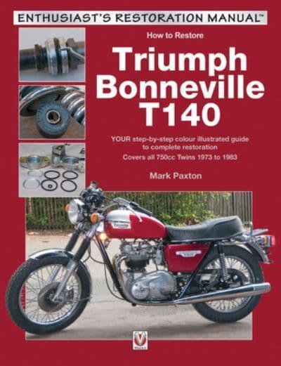 Triumph Bonneville T140 Paxton 9781787111493 Blackwells
