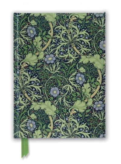William Morris Seaweed Wallpaper Design Foiled Journal Flame Tree Studio Creator 9781787558144 Blackwell S