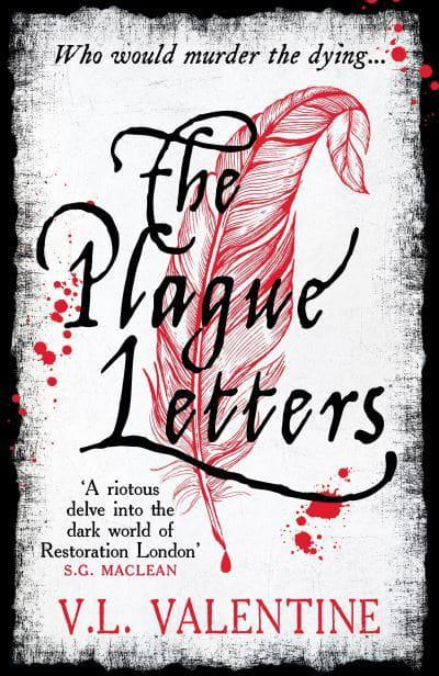 Book cover: The Plague Letters by V.L. Valentine