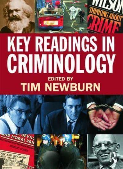 criminology tim newburn Vind alle studiedocumenten for criminology van tim newburn.