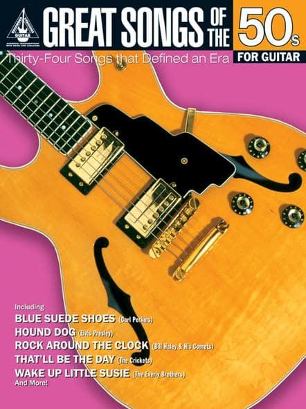 Great Songs Of The 50s For Guitar Not Available Na